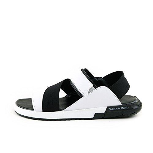 per libero sandali Bassa Casa scarpe da scarpe uomo tendenza Pantofole Punta piatte B con spiaggia estate tempo qBznPwnEI