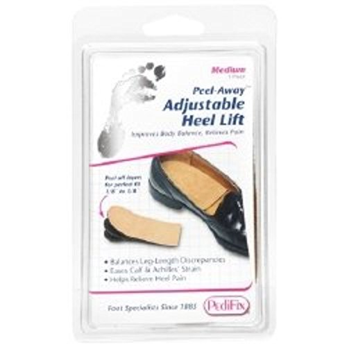 Heel Lift Peel-Away Medium Without Fastening Left or Right Foot Medium Peel