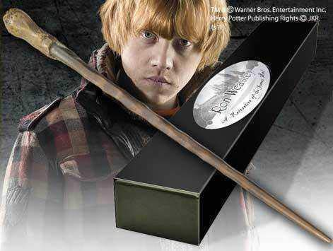 Harry Potter Wand Ron Weasley (Character-Edition) Noble Collection Replicas