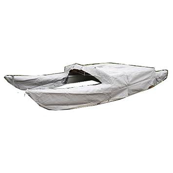 Cubierta de lona alquitranada tapa protección LKW-PLANE 750 G/m² hobie Cat{16} gris claro: Amazon.es: Deportes y aire libre