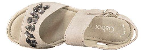 gris 38 Suede grau 45 19 sandale femmes Gr 40 571 Gabor 0XwpHqR
