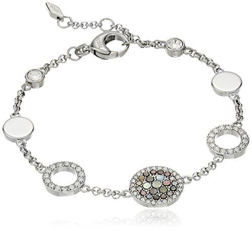 Fossil Vintage Glitz Crystal Bracelet, 7