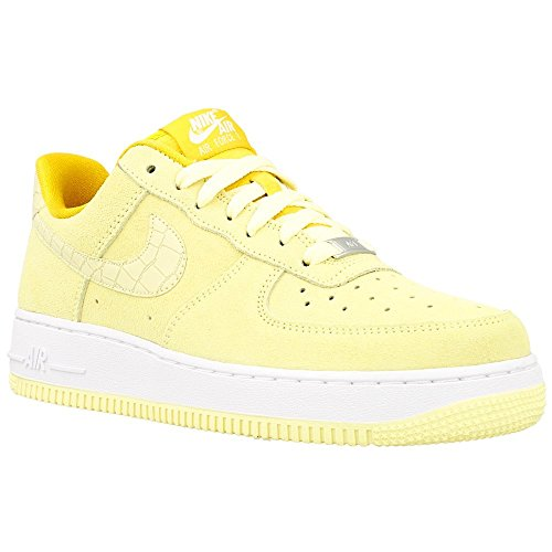 Nike Womens Air Force 1 07 Seasonal Trainers 818594 Sneakers Shoes (US 9.5, lemon drop - Nike Air Force Dunks