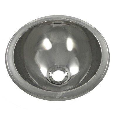 Opella 18105.045 SemiSpherical Self Rimming Bathroom Sink, by Opella
