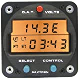 1 Pc, Chronometer/Digital Clock With 5V Lighting. 2 1/4 Internal Mount. O.A.T. (Outside Air Temperature) F & C/Includes: Temperature Probe