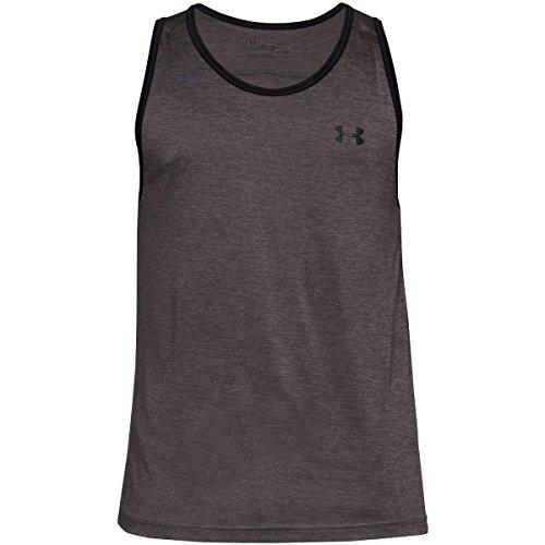 Hombre Sin Mangas Shirt Tech Under Camiseta De Para Armour Tank 020 Fitness Charcoal wnpv1qaX