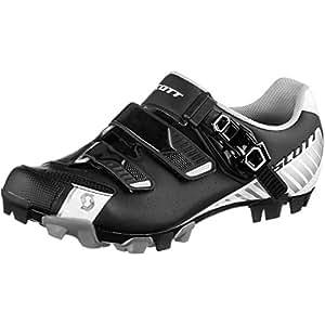 Scott - Zapatillas para hombre (para bicicleta y trekking), color gris y rojo, hombre, anthracite rot, 45 UE