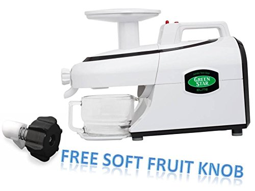 Tribest Green Star Elite GSE-5000 Jumbo Twin Gear Juice Extractor PLUS FREE SOFT FRUIT ()