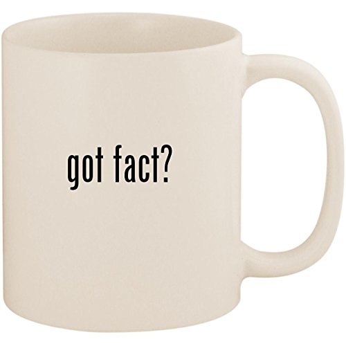 got fact? - 11oz Ceramic White Coffee Mug Cup, White (Three Facts About Martin Luther King Jr)