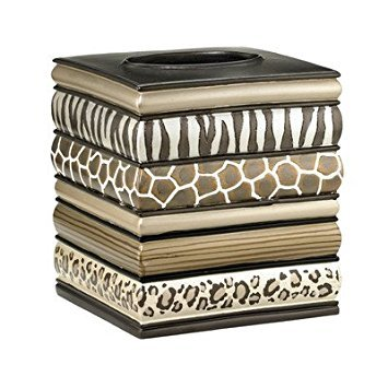 PB Home Safari Stripe Tissue Box