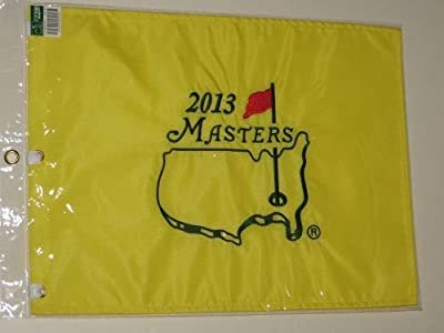 2013 MASTERS Golf Tournament Pin Flag Augusta National Pga Adam Scott Wins!