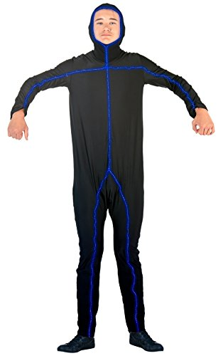 Light Up Body Suit (Light Up Stick Figure Bodysuit Costume (Adult XXL))