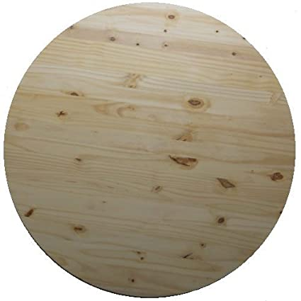 5/4u0026quot; X 24u0026quot; Allwood Round Table Top, 1u0026quot; ...