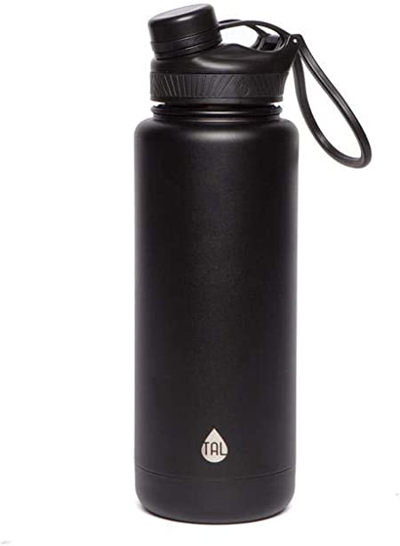 *TAL 40oz Double Wall Insulated Stainless Steel Ranger Pro Water Bottle,New