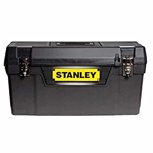 Stanley STA194858 Metal Latch Toolbox, 20 inch - Black