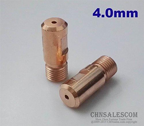 (CHNsalescom 5 PCS Submerged Arc Welding Chrome Zirconium Copper TIP M14x1.5x38 4.0mm)