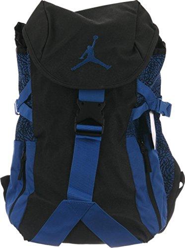 Nike Jordan Jumpman Top Loader Backpack Black Sport Blue - Import ... 8f3117d969354
