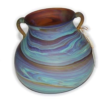 Costa estilo II fenicio – belleza antigua fenicio jarrón de vidrio. Cada uno es único