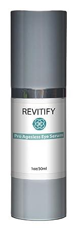 Revitify Ageless Eye Serum- Premium Under Eye Treatment- Advanced Anti-Aging Formula Restores Hydration and Youthful Glow to Skin – Improved Formula