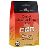 Cheap Wedderspoon Organic Manuka Honey Lozenges with Ginger and Echinacea, 4 Ounce