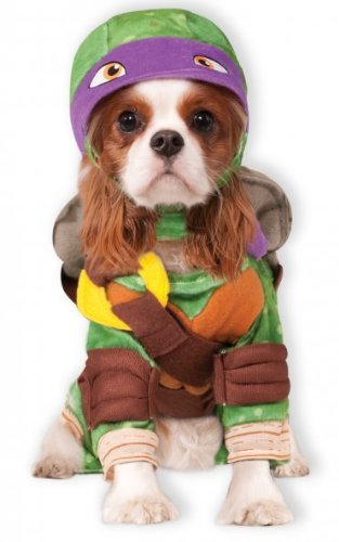 Ninja Turtles Dog Costumes (Teenage Mutant Ninja Turtle Dog Pet Pet Costume Donatello (Purple) - X-Large)