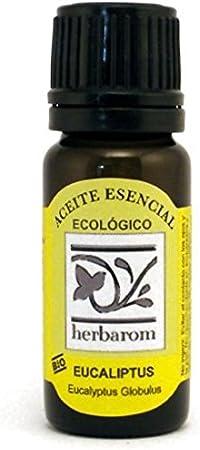 Herbarom Aceite Esencial Bio Eucaliptus   Aceite Esencial Puro Eucaliptus, Antibacteriano, Antiséptico, Descongestionante, Expectorante, Purificante, Refrescante y Estimulante, 50 ml