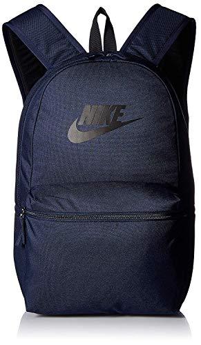 NIKE Heritage Backpack Book Bag Laptop Tablet Storage Rucksack Day Pack Gear  Tote (Navy Blue 81aebb83dd0a0