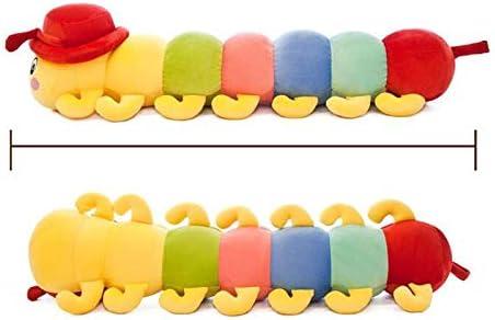 HUOQILIN Ornament Lange Slaap Kussen Mooie Pet Speeltje Caterpillar Knuffel Bed For Kinderen (Size : M)