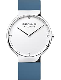 Time 15540-700 Mens Max René Collection Watch with Silicone Band and scratch resistant sapphire. Bering