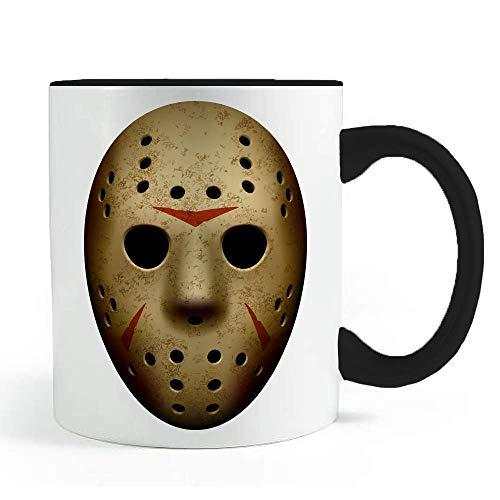 Spooky Halloween Hockey Mask - Coffee and Tea Mug -