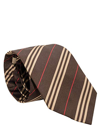 burberry ties for men brown - 2
