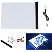 ECHI Light Box A4 Size LED Drawing Board Tattoo Pad Drawing Copy Tracing Stencil Board Table