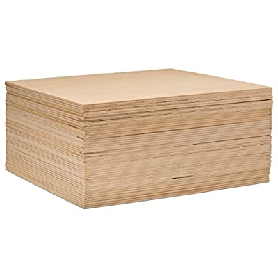 "3 mm 1/8"" X 10"" X 10"" Premium Baltic Birch Plywood – B/BB Grade - Flat Sheets by Woodpeckers"