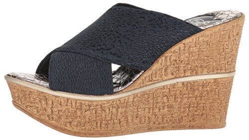 Love & Liberty Women's Ruth-LL Wedge Sandal, Navy, 7 M US by Love & Liberty (Image #5)