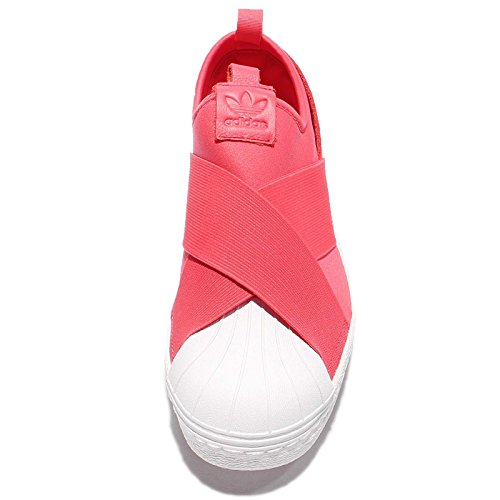 Slipon Donna Superstar Adidas W, Rosa / Bianco Rosa / Bianco