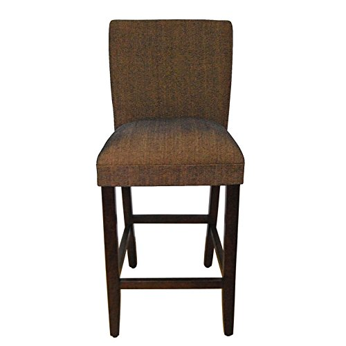 HomePop K1401.29-F772 Parsons Classic Upholstered Barstool Brown