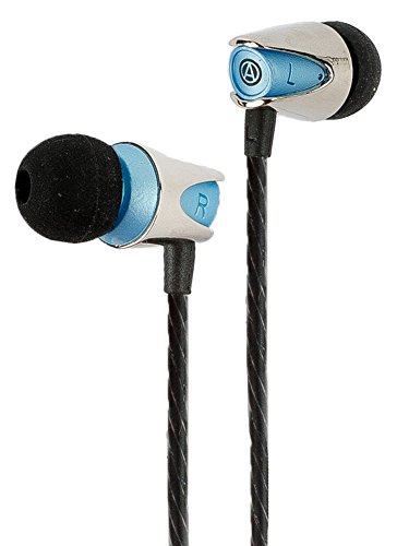Earbuds/Earphones, in-Ear Headphones with Mic : Noise Isolating Bass Driver, in-Line Microphone with Volume and Phone Controls, IEM : The Audiophile Quicksilver