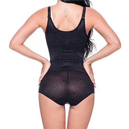 vita Black modellante Body MOLY MISS Donna modellabile Shaper Intimo per Tuta la Shapewear Rwq4A