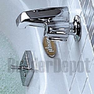 - Jacuzzi X559815 Trip Lever Drain Kit, Satin Nickel
