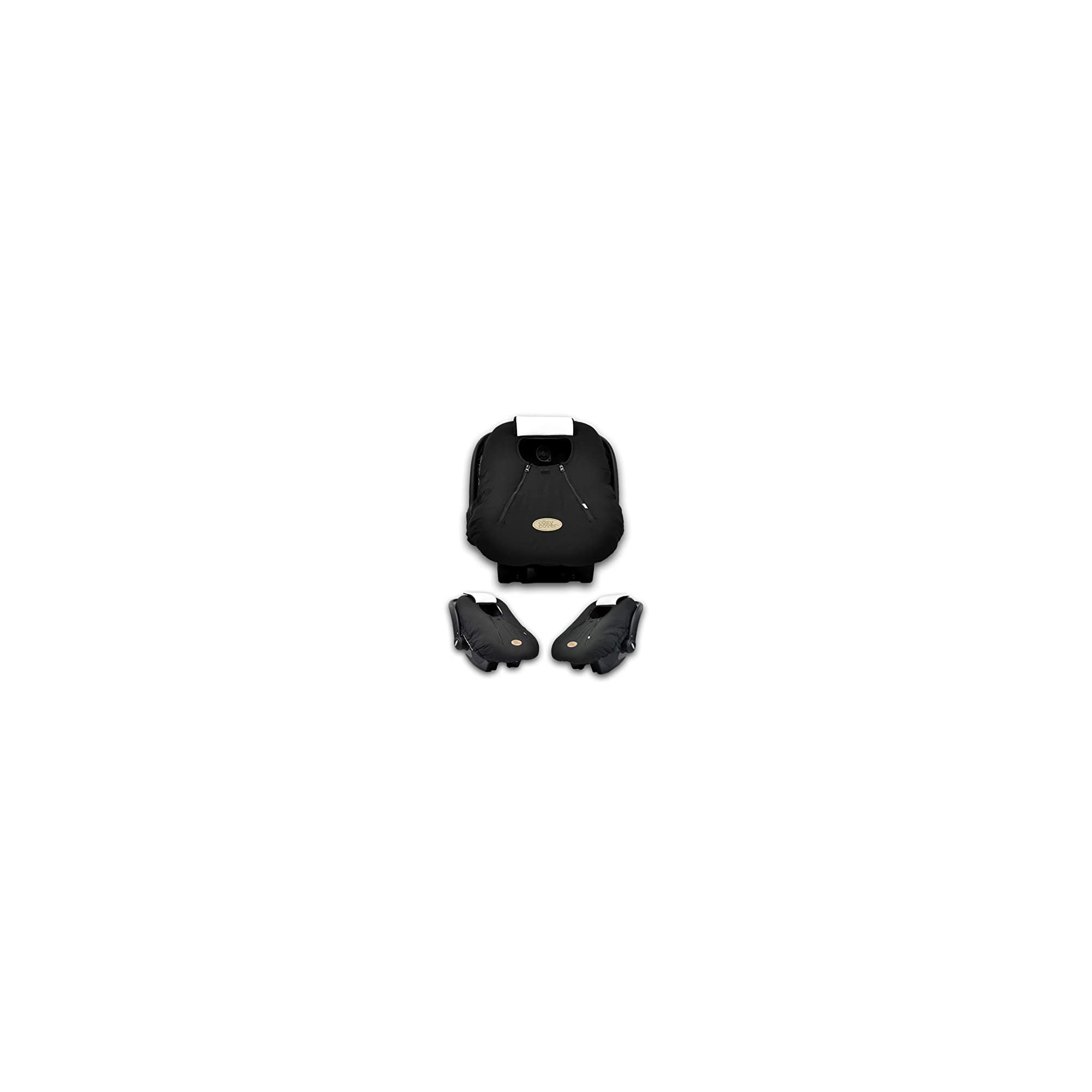 Cozy Cover Infant Car Seat Cover (Black) – The Industry Leading Infant Carrier Cover Trusted by Over 6 Million Moms Worldwide for Keeping Your Baby Cozy, Warm