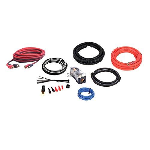 DB Link Maxkore ME4K 4 Gauge Car Audio 100% OFC Copper Amp Kit+RCA+Speaker Wire