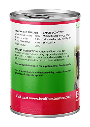 Image of Health Extension Grain Free 95% Beef 13.2-Ounces, Case Of 12