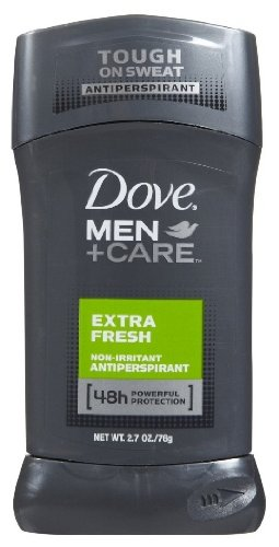 Dove Men + Care 48h Non-Irritant AntiPerspirant Deodorant, Extra Fresh Scent, 2.7oz (6 pack)