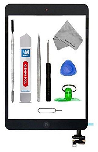13 opinioni per Schermo tattile di ricambio per iPad mini 1 / 2 Nero con IC Chip Incl kit con 12