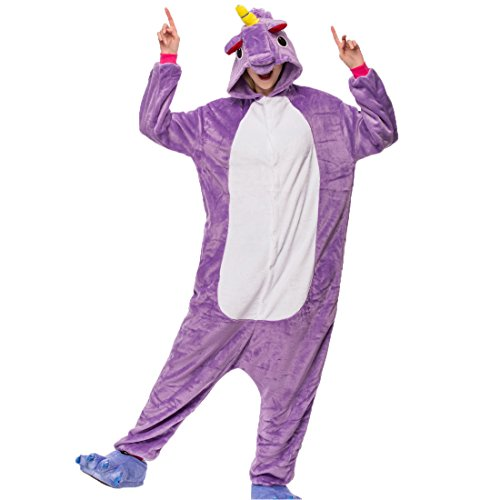 Unisex Adult Pajamas - Plush One Piece Cosplay