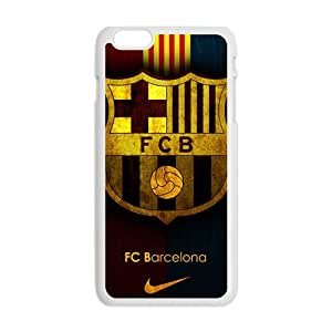 Happy FC Barcelona Fashion Comstom Plastic case cover For Iphone 6 Plus