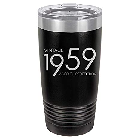 1959 60th Birthday Gifts For Men Women Insulated Stainless Steel Tumbler
