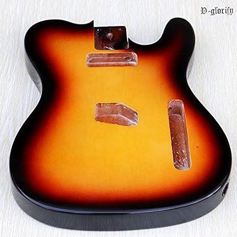Mahogany Wood TL guitarra eléctrica, partes de guitarra: Amazon.es ...