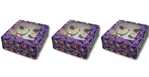 Halloween Goodie Boxes Set of 3-6.25