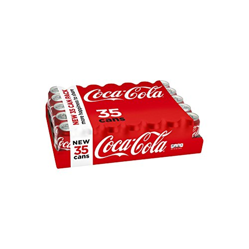Coca Cola 12 oz cans 35